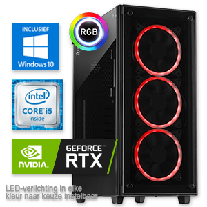 Intel Core i5 9600KF met Geforce RTX 2070 SUPER samenstellen op www.computergamer.nl