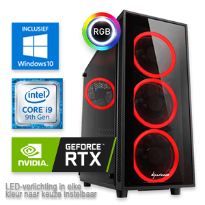 Intel Core i9 9900KF met Geforce RTX 2080 SUPER samenstellen op www.computergamer.nl